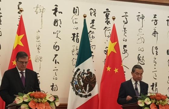 China y México trabajarán de manera conjunta para promover el multilateralismo. Foto: Lizeth Gómez de Anda