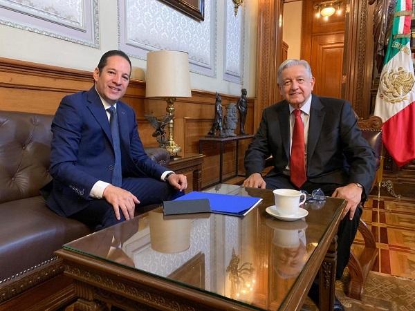Domínguez Servién señaló que dentro de unos días se fijará la fecha para llevar a cabo la firma de dicho acuerdo nacional para la concordia. Foto: Especial