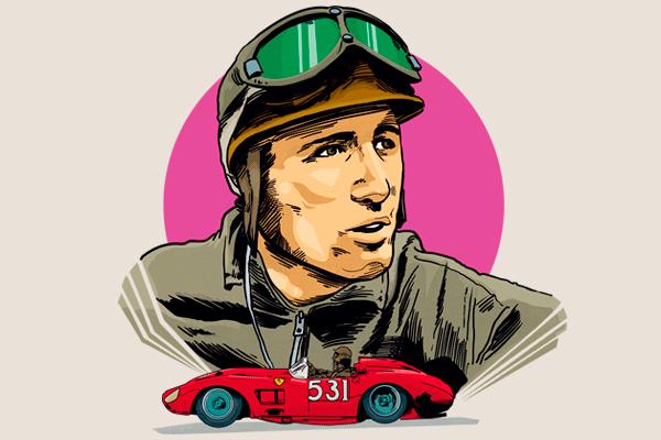 Nació el 11 de octubre de 1928, en Londres, Inglaterra. Ilustración: Norberto Carrasco.