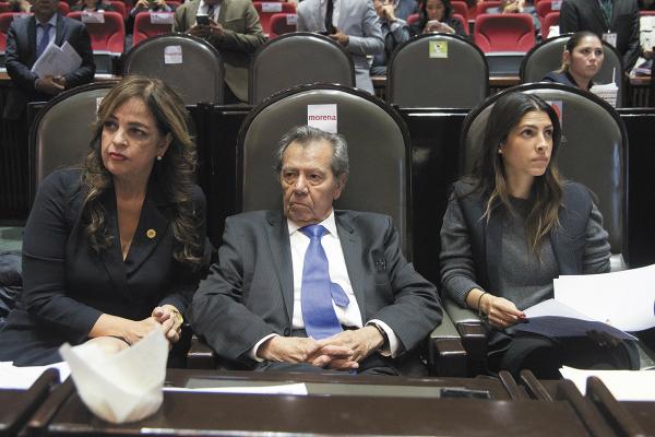 La diputada Lorena Villavicencio empuja desde Morena la inciativa de género. Foto: Cuartoscuro.