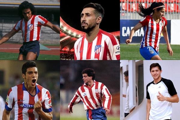 Al menos seis futbolistas -entre ellos una mujer- y un director técnico mexicanos han pasado por las filas del club colchonero. Foto: Especial