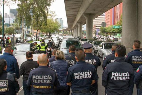 Elementos de la Policía Federal hicieron un llamado a un paro nacional el día de mañana. Foto: Especial.