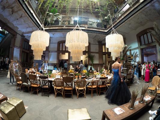 LOCACIÓN. Diversos spots se montaron en el recinto con las tendencias para decorar el día de tu boda. Foto: YAZ RIVERA