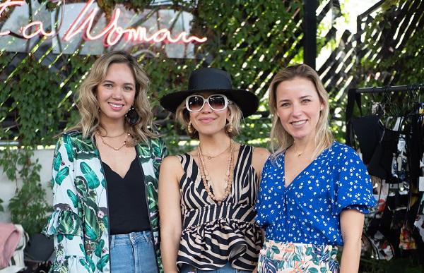 EN TENDENCIA. Patricia Eng, Lupita Félix y Lizette Salazar. Foto:  YAZ RIVERA
