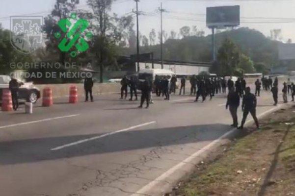 PF Bloqueo México-Pachuca