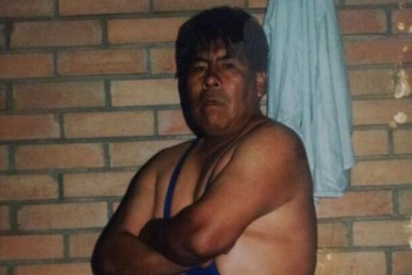 """Emilio Aruquipa, el """"Perro Aguayo"""" de Bolivia. Foto: Facebook Emilio Aruquipa"""
