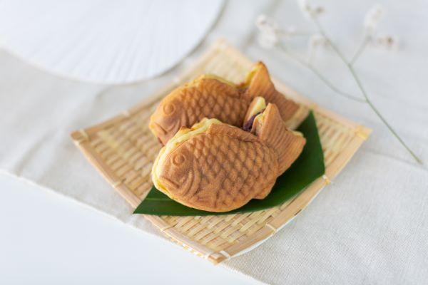 Taiyaki, pastel frito en forma de pez. Foto: Especial
