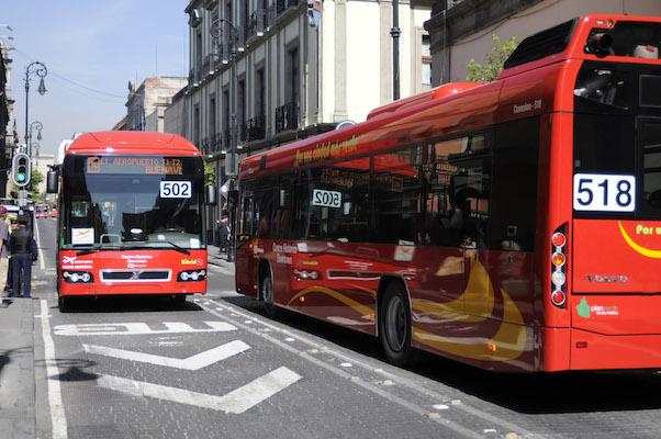 Por carrera deportiva, este domingo cerrarán 9 estaciones de las líneas 3 y 4 del Metrobús