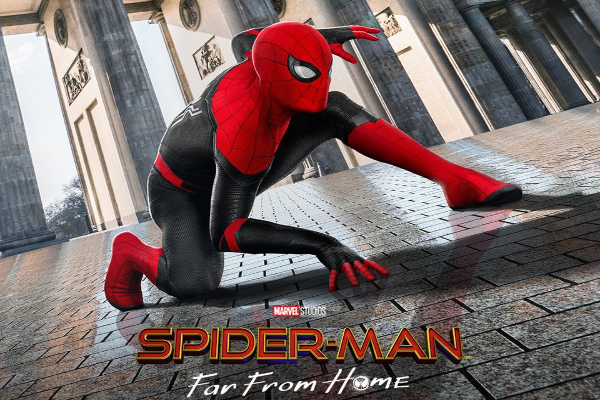 Poster de la película Spider-Man For From Home