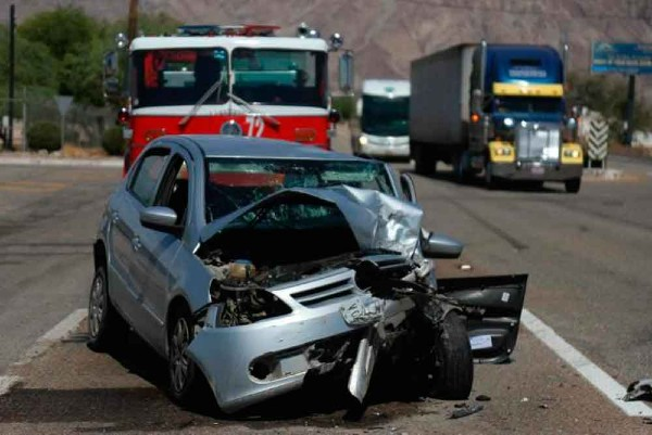 Se registraron 12 mil 238 accidentes carreteros en 201. Foto: Especial