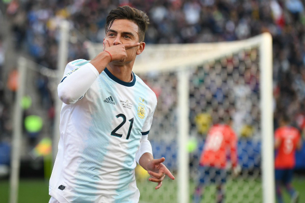 Dybala anotó el segundo gol de Argentina. Foto: Especial.