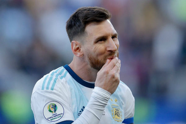 El argentino anotó un gol en la Copa América 2019. Foto: Especial.