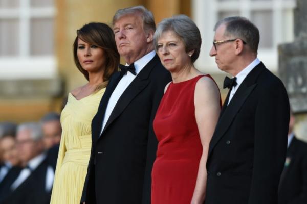La llamada telefónica entre Trump y May llega en un momento de tensión entre Londres y Teherán. Foto Especial