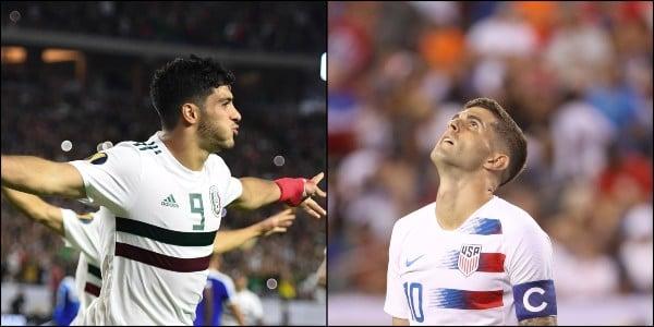Por primera vez, la transmisión de la final de la Copa Oro y la Copa América será también por Imagen TV y ESPN. Foto: AFP