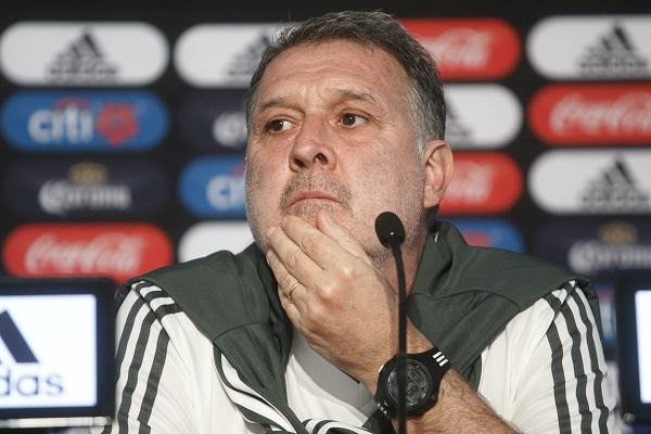 Como técnico de la selección argentina, el