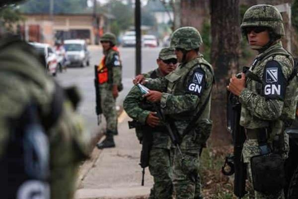 Realizarán operativos conjuntos la Guardia Nacional, la policía estatal, el Ejército y las policías municipales. Foto Especial