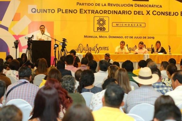 Aureoles participó hoy en la sesión del Consejo Estatal. Foto Especial