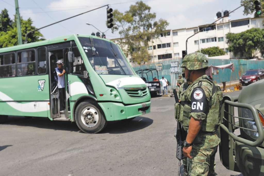 REGLAS. La propuesta de ley incluye la colaboración de las fuerzas federales en la Ciudad de México.  Foto: Nayeli Cruz