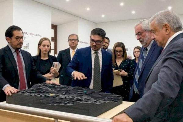 Incluso, en un video publicado en sus redes sociales, el presidente invitó a la ciudadania a a conocerlos en Palacio Nacional. Foto Gobierno de México