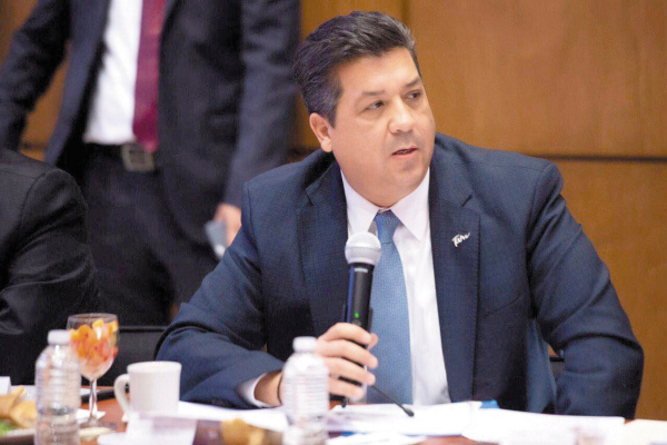 VISIÓN. García Cabeza de Vaca expuso con firmeza la postura del gobierno estatal. Foto: Especial