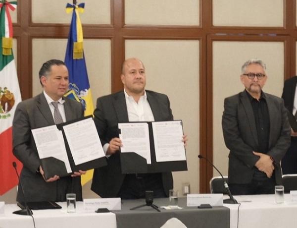 El Convenio que habilita la UIF en Jalisco y que operará desde la Secretaría de Finanzas y la Fiscalía del Estado, es vigente a partir de su firma y tiene una duración indefinida. Foto: Especial
