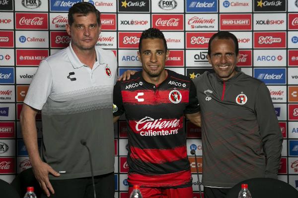El delantero llega después de jugar para Gallos de Querétaro. Foto: Especial.