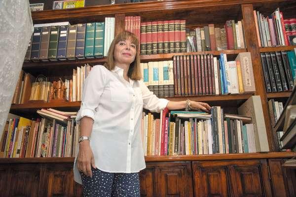 LEGADO. Bazán es la heredera de los derechos del nombre y obra de Cuevas.  FOTO: Daniel Ojeda