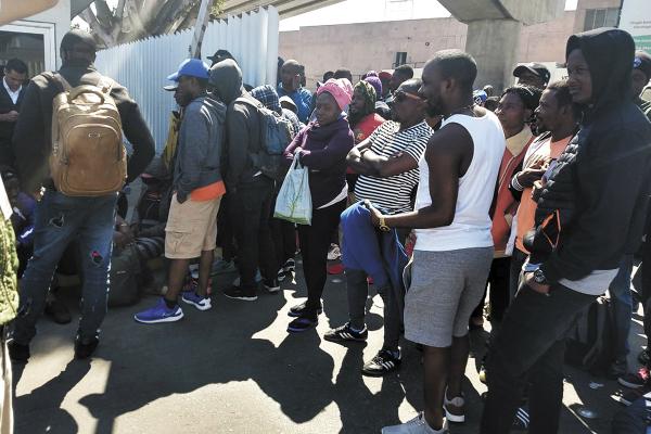 Los migrantes del Congo son parte de un grupo que salió de África por el hambre. Foto: Atahualpa Garibay.
