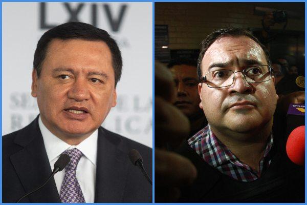 Osorio Chong asegura que nunca tuvo un acercamiento con Duarte ni antes ni después de su captura. Foto: Archivo | Cuartoscuro