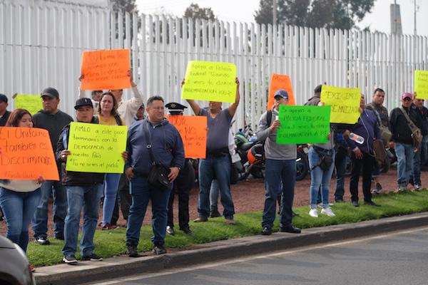 Suman ya 8 días de protestas de la Policía Federal; acusan opacidad en incorporación a la Guardia Nacional. Foto: Cuartoscuro