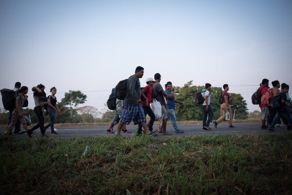 Migrantes Migración EU México
