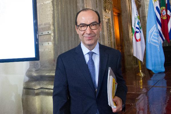 Javier Treviño en el CCE