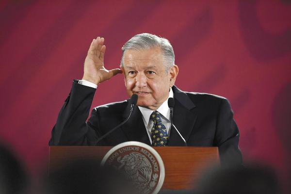 El Presidente afirmó, en la conferencia mañanera, que no cambiará la forma de hacer política. Foto: Pablo Salazar.
