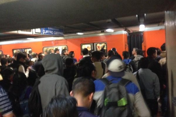 Reportan lento avance en líneas 1, 2, 3 del Metro por incidentes