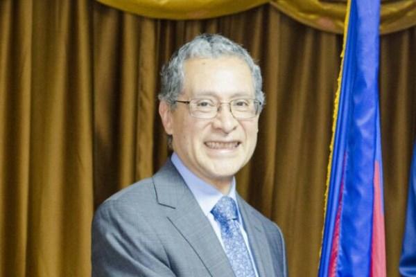Rodríguez Arellano llegó a la embajada de Haití en junio de 2018. Foto: @josephlambertHT