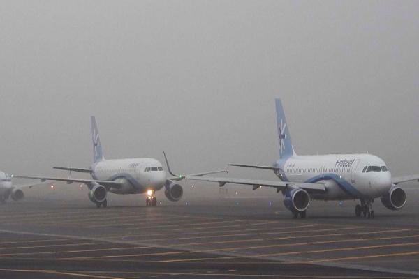 Aviones del AICM