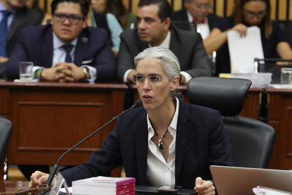 Pamela San Martín en la SCJN