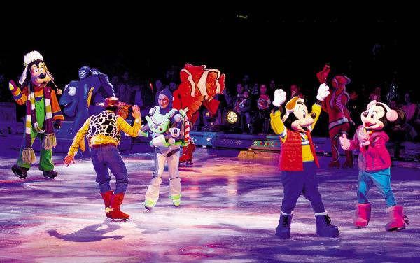 El espectáculo de Disney on Ice se presentará este verano. Foto: Especial.