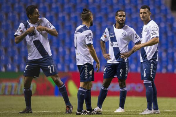 El conjunto poblano se prepará para su debut en el Apertura 2019. Foto: Especial.