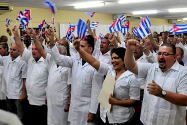 En el marco de la visita de la delegación cubana hubo reuniones con funcionarios de la Secretaría de Salud. Foto Especial