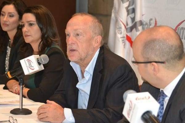 Jonathan Heath es, actualmente, miembro honorario del IMEF, el cual preside Fernando López Macari. Foto Especial