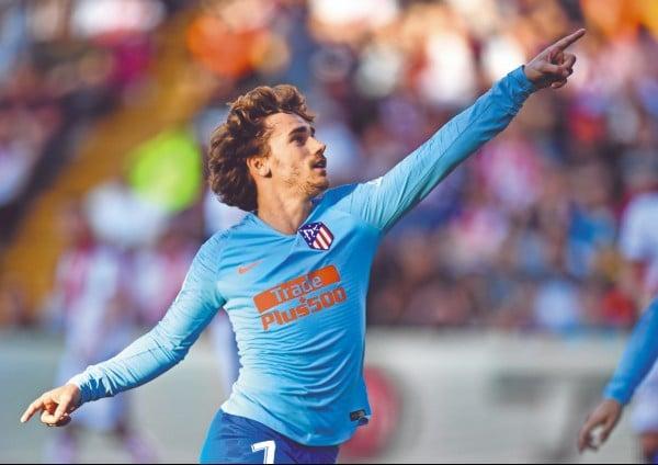 El delantero galo hará equipo en la ofensiva blaugrana con Lionel Messi y Luis Suárez. Foto: EFE