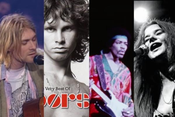 Dia mundial del rock, club de los 27