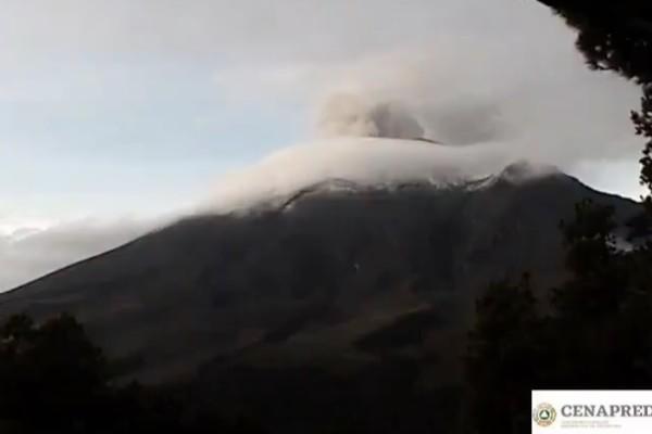 Actividad del popocatépetl 13 de julio