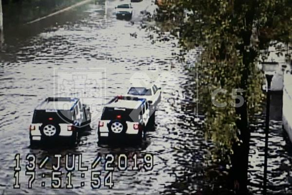El C5 de la Ciudad de México informó sobre las inundaciones. Foto: Especial.