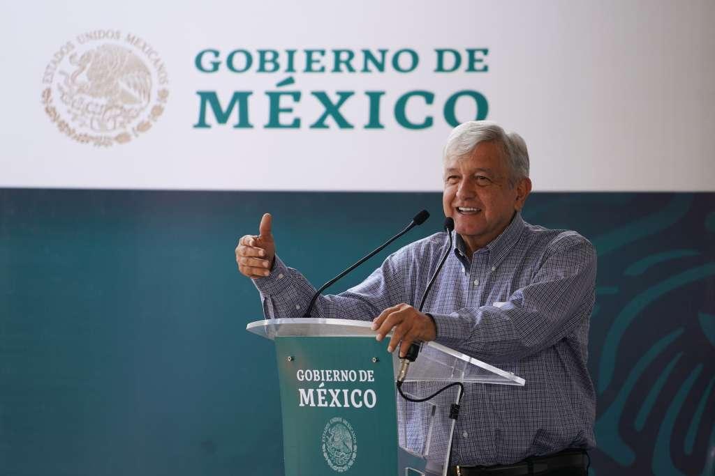 Andrés Manuel López Obrador, Presidente de México en Diálogo con la Comunidad del Hospital Rural de Villamar. Foto: Cuartoscuro