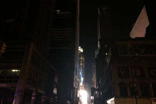 El apagón, además de afectar al normal funcionamiento del metro, dejó a muchos ciudadanos atrapados en ascensores. Foto Twitter