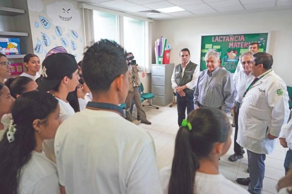 El Presidente ofreció detalles del funcionamiento del Instituto de Salud para el Bienestar. Foto: Cuartoscuro