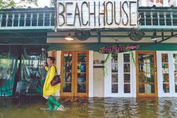 En Luisiana, la costa de Mississippi y Alabama hay inundaciones. Foto: AP
