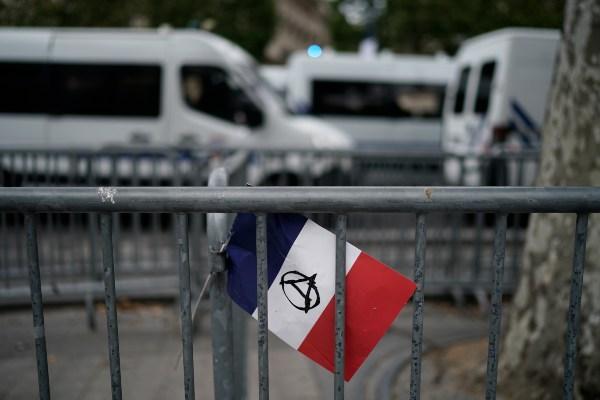 La mayoría de las personas fueron arrestadas por participar en una manifestación no autorizada. Foto: AFP